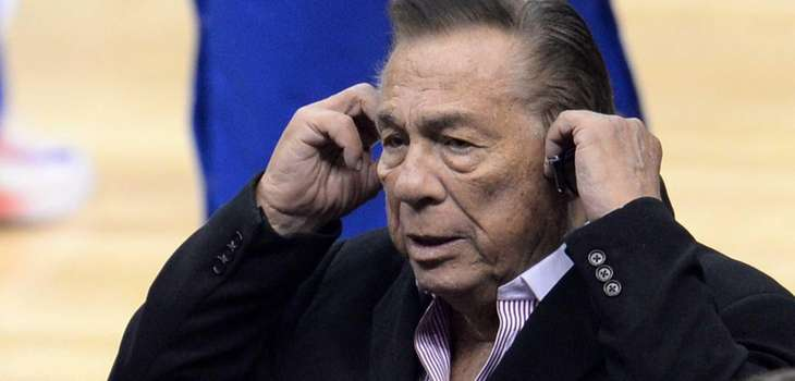 Los Angeles Clippers owner Donald Sterling on April