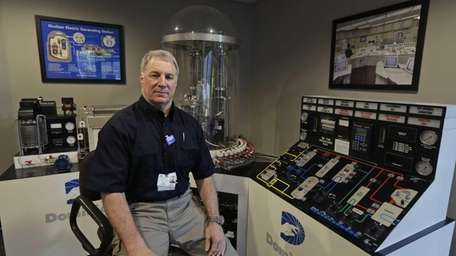 Roy Simmons, a nuclear power station plant manager