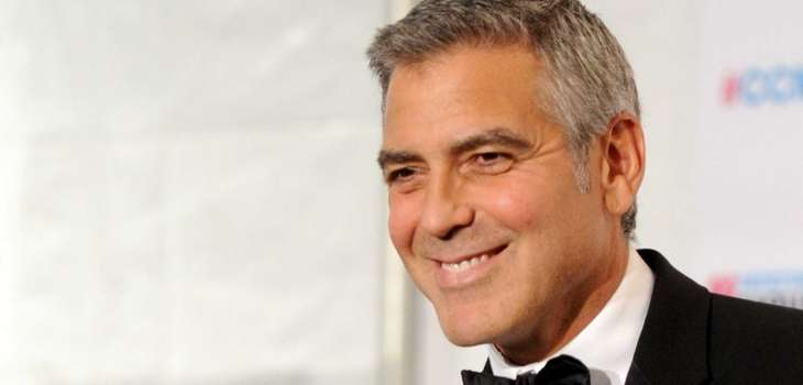 Actor George Clooney, winner of the Best Actor