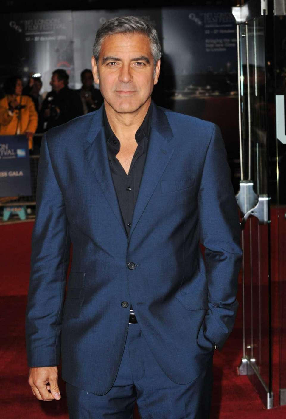 "Filmmaker George Clooney attends ""The Ides of March"""