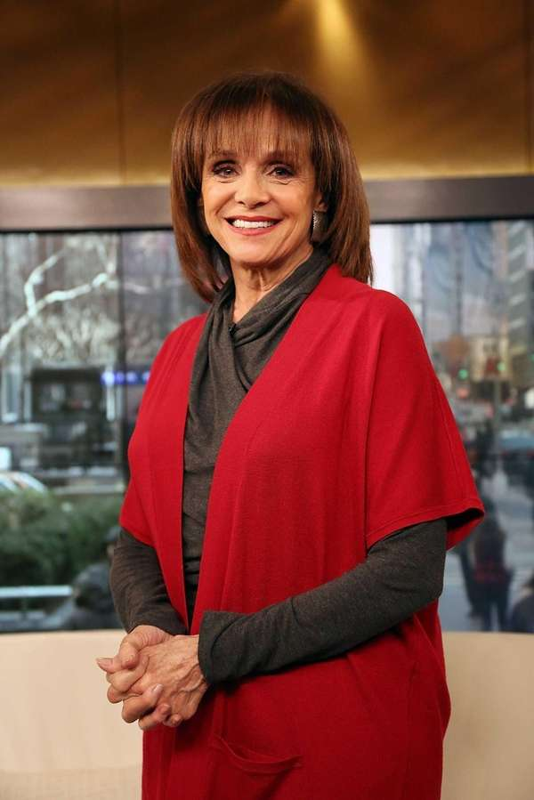 Actress Valerie Harper visits