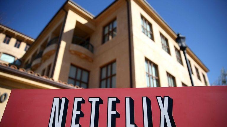 Netflix headquarters on Jan. 22, 2014 in Los