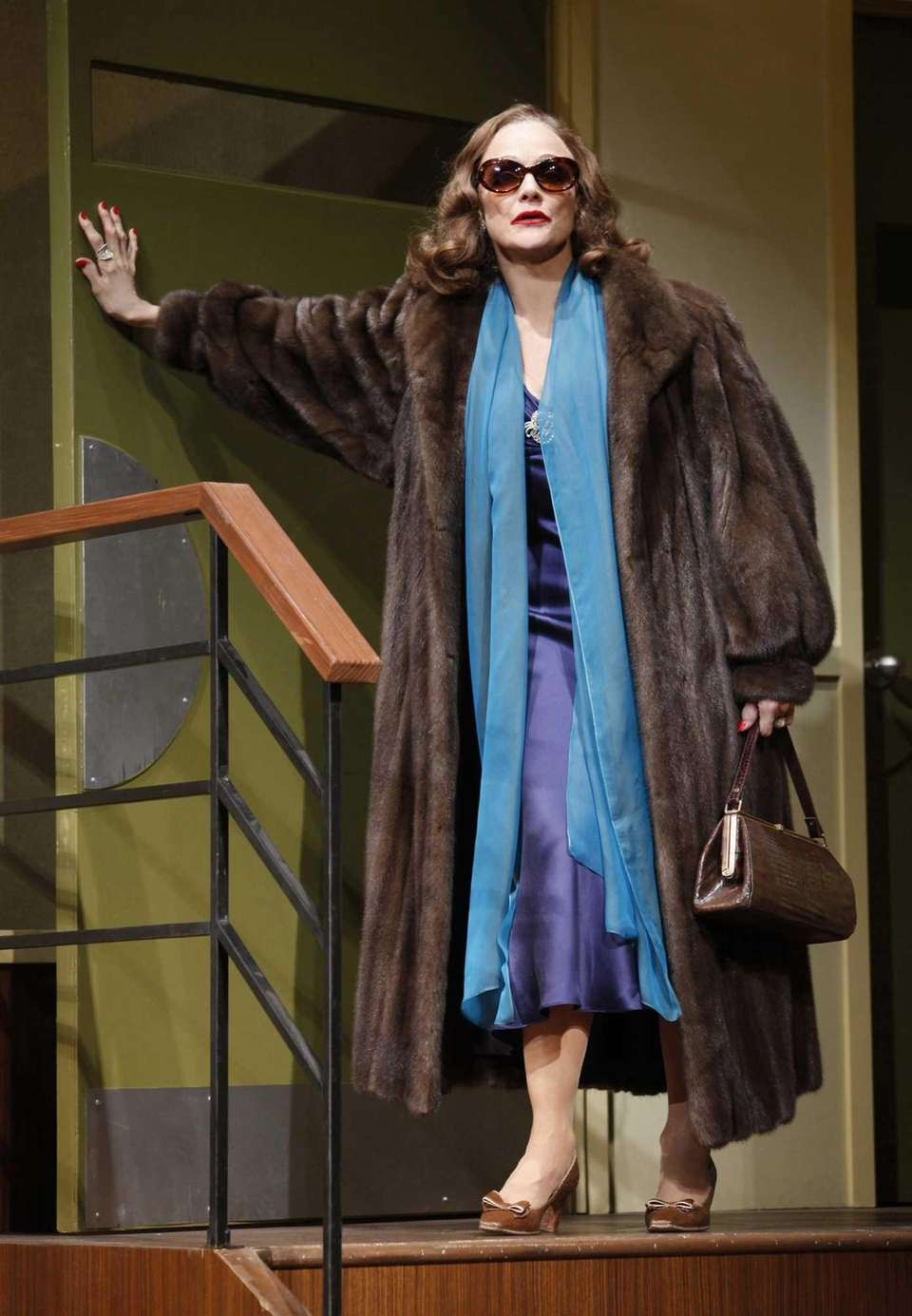 Valerie Harper played Tallulah Bankhead in Matthew Lombardo's