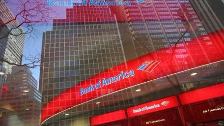 A branch of Bank of America branch in