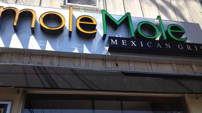 Mole Mole restaurant in Port Washington on April