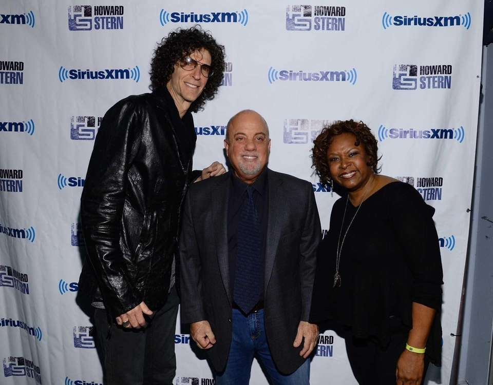 Billy Joel with Howard Stern and Robin Quivers