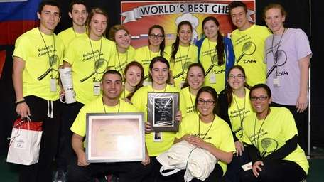 A team from Plainedge High School took second