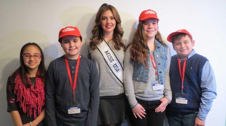 Kidsday met Erin Brady, Miss USA 2013