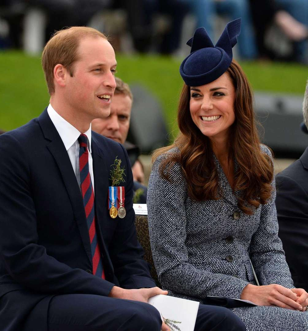 Prince William and Catherine, Duchess of Cambridge, share