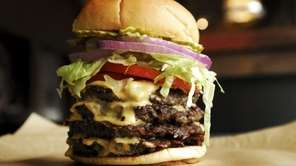 American Roadside Burgers, Smithtown: You order at the