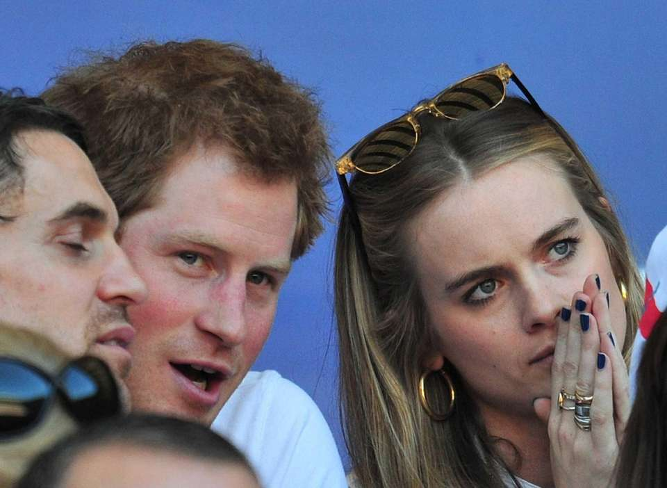 Prince Harry and his girlfriend of nearly two