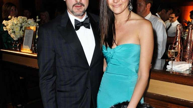 Actor David Arquette and TV personality Christina McLarty