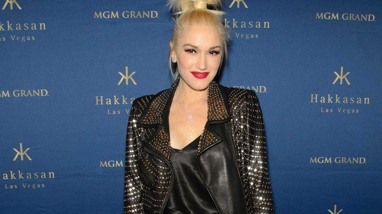 Gwen Stefani attends the one year anniversary celebration