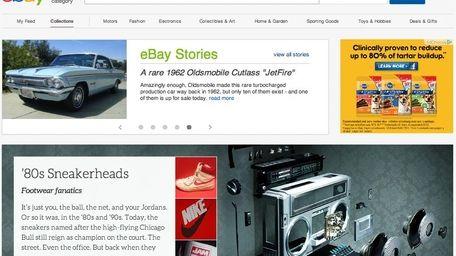 A screenshot of eBay.com.