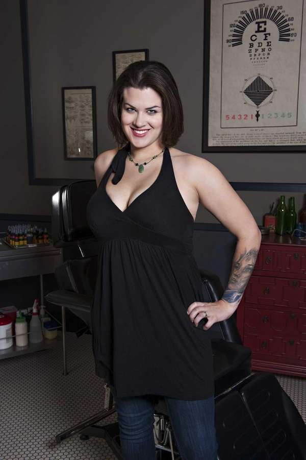 "Sarah Miller, from Spike TV's ""Ink Masters,"" is"
