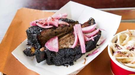 The brontosaurian beef rib at North Fork Bacon