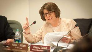 Long Island Rail Road President Helena Williams during