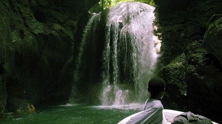 Somerset Falls near Montego Bay, Jamaica. Hilton is