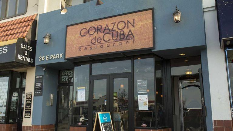 Corazon de Cuba is a lively restaurant in