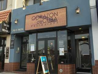 Corazon de Cuba is a lively restaurant in
