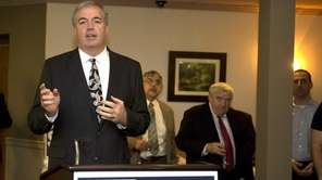 Edward Walsh, Suffolk County Conservative Party chairman, attends