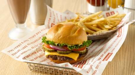 Smashburger (multiple locations): The classic Smash burger includes