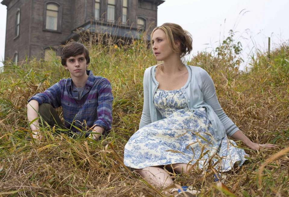 Freddie Highmore is a teenage Norman Bates, while
