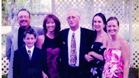 From left, Donald Gray, his nephew Nicholas Licari,