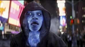 "Jamie Foxx as Electro in ""The Amazing Spider-Man"
