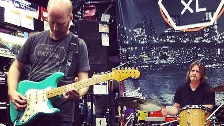 Instagram photo shows guitarist Oz Noy playing at
