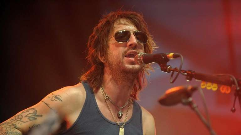 Joseph Arthur of Fistful of Mercy performs during