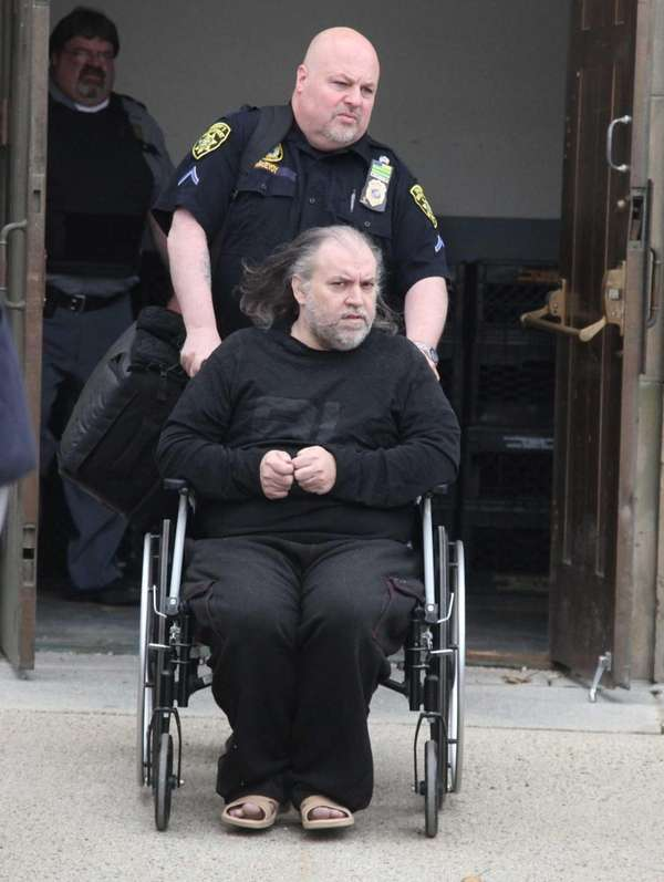 Daniel Miller leaves the Nassau County Court in