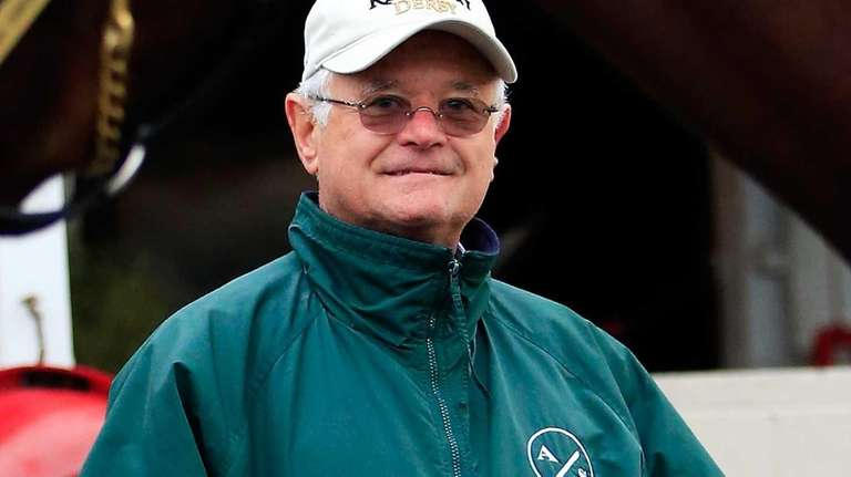 Art Sherman, trainer of Kentucky Derby contender California