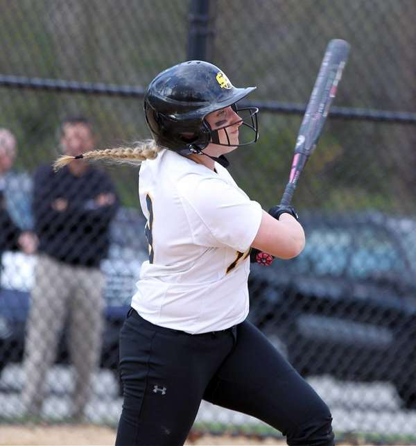 St. Anthony's Gabriella Marcheschi gets the RBI against