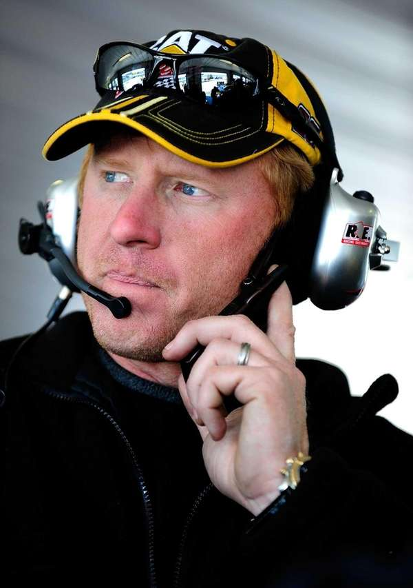 Tommy Baldwin, shown here at Pocono in 2008,