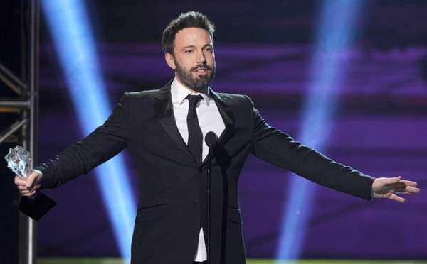 Ben Affleck on stage at the 18th Annual