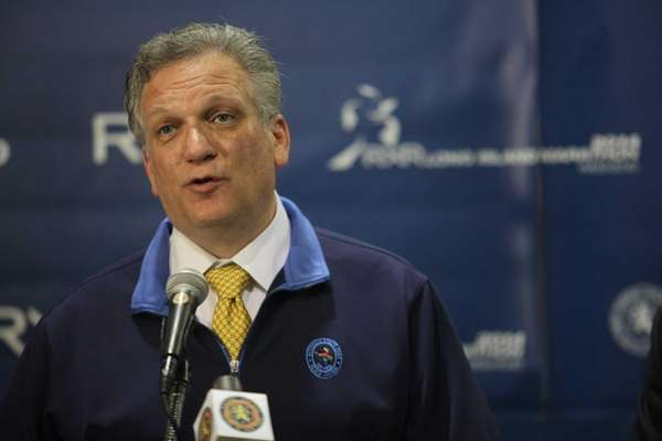 Nassau County Executive Edward Mangano, shown on Friday,