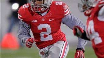 Ohio State linebacker Ryan Shazier.