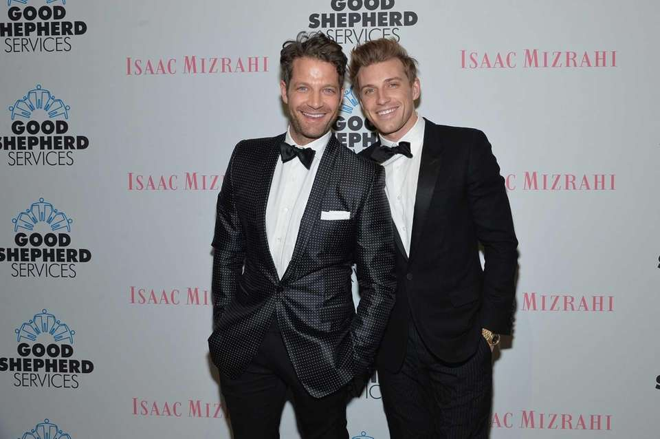Designer and TV host Nate Berkus married his