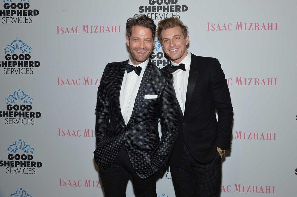 Designer and TV host Nate Berkus married his