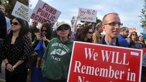 Local public school teacher unions, anti-frackers, and other