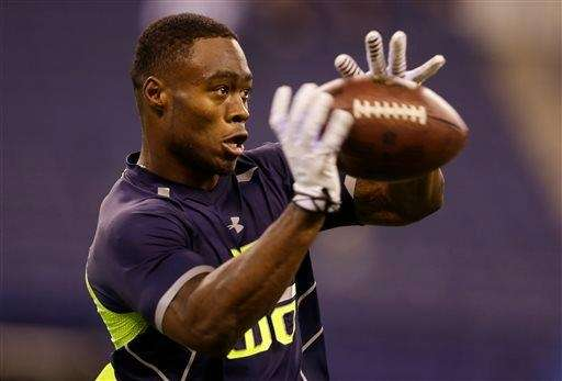 Oregon State wide receiver Brandin Cooks makes a
