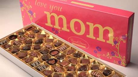 A large box of chocolates in special packaging