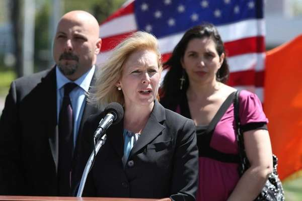 Sen. Kirsten Gillibrand speaks about pushing for legislation