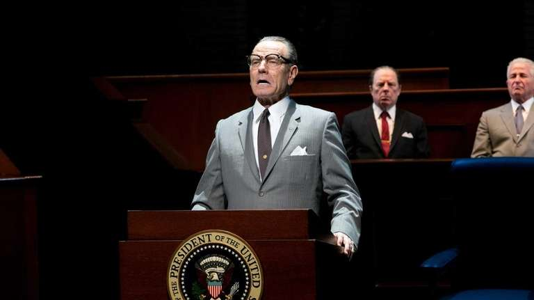 Bryan Cranston as LBJ in in