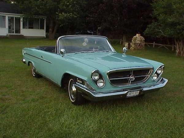 1962 Chrysler 300 Sport convertible owned by Joseph