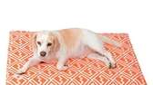 Lizzy Chillin' Pad The geometric pattern on the