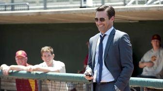 Jon Hamm plays real-life sports agent J.B. Bernstein,