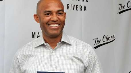 Former Yankees closer Mariano Rivera met with fans