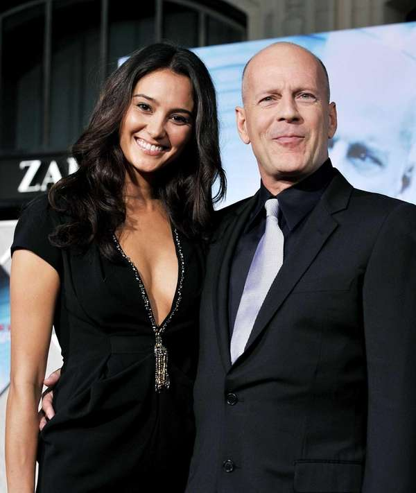 Bruce Willis and his wife, model-turned-designer Emma Heming-Willis,